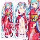 Vocaloid Dakimakura Hatsune Miku Body Pillow Case Kimono Version