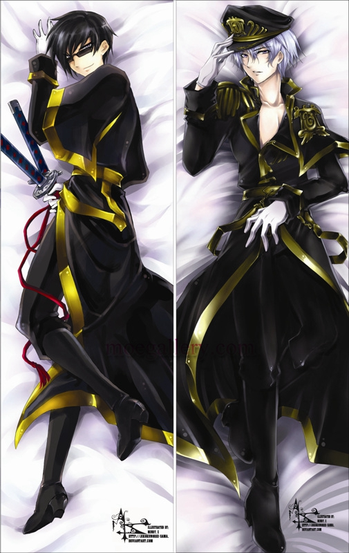 07 Ghost Dakimakura Ayanami Body Pillow Case 02