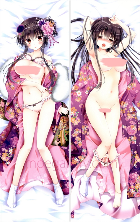 Anime Girls Dakimakura 18X Sexy Body Pillow Case 02