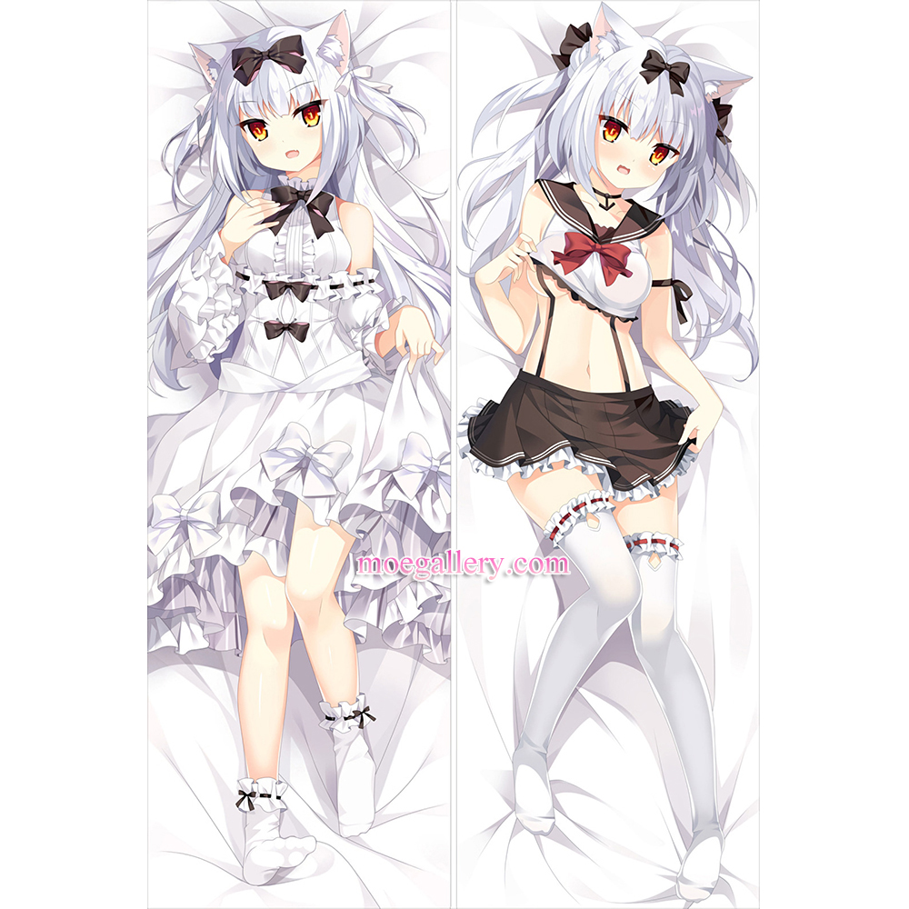 Azur Lane Dakimakura Yukikaze Body Pillow Case
