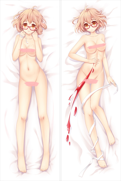Beyond The Boundary Mirai Kuriyama Body Pillow Case 02