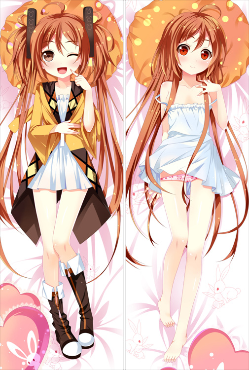 Black Bullet Enju Aihara Body Pillow Case