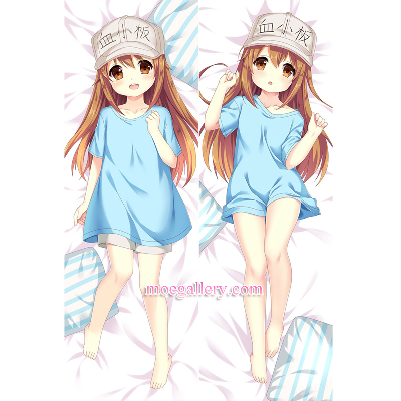 Cells at Work! Hataraku Saibou Dakimakura Kesshouban Body Pillow Case 04