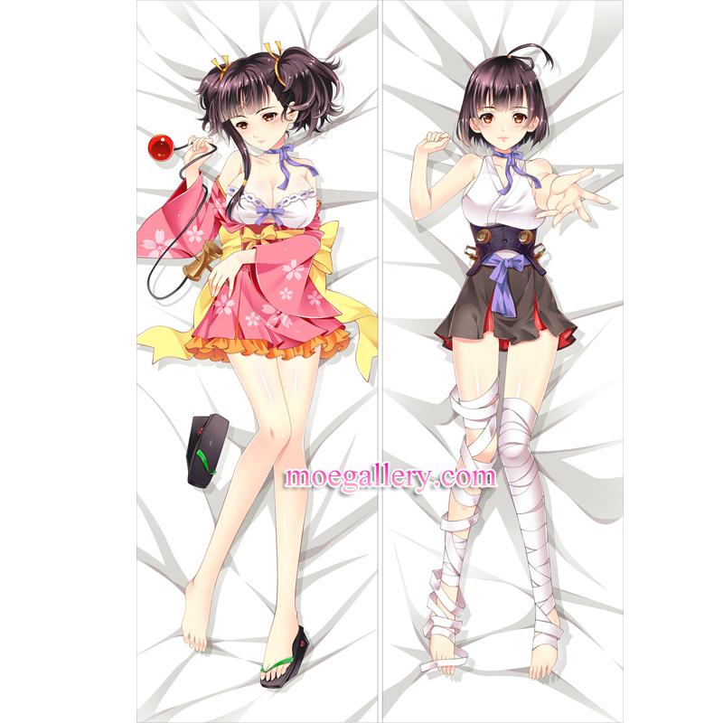Koutetsujou no Kabaneri Dakimakura Mumei Body Pillow Case