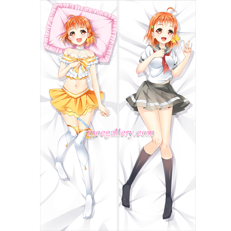Love Live Sunshine Dakimakura Takami Chika Body Pillow Case