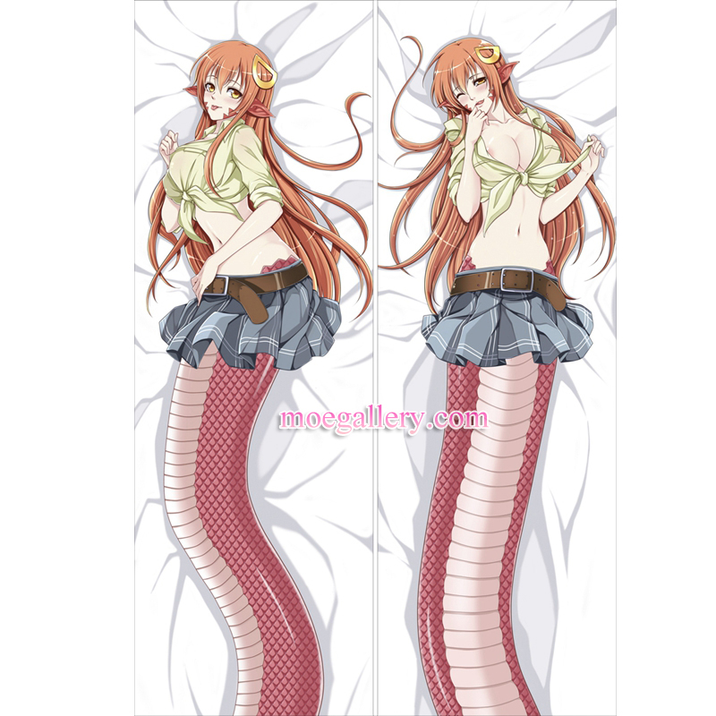 Monster Musume Dakimakura Miia Body Pillow Case 03