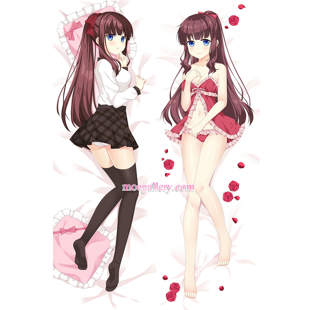 New Game Dakimakura Hifumi Takimoto Body Pillow Case