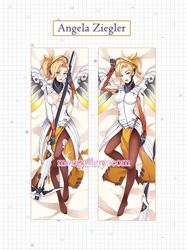 Overwatch Dakimakura Angela Ziegler Body Pillow Case