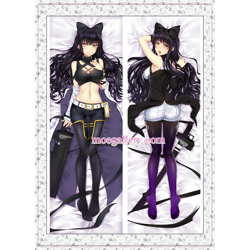 Rwby Dakimakura Black Trailer Blake Belladonna Body Pillow Case