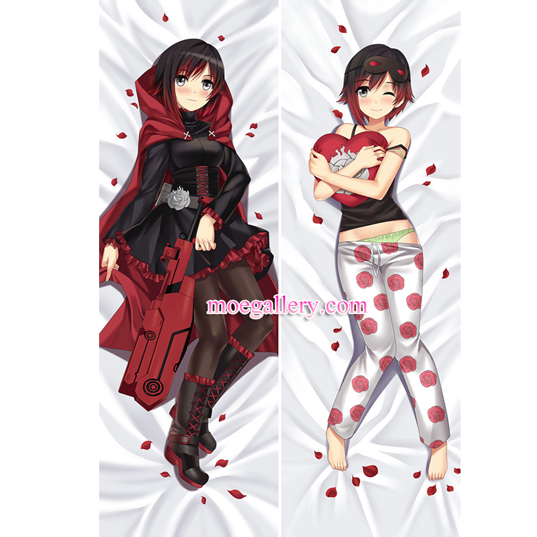 Rwby Dakimakura Ruby Rose Body Pillow Case