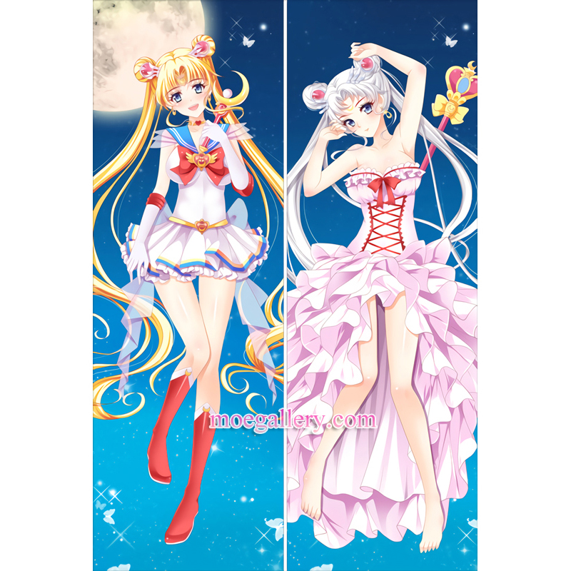 Sailor Moon Dakimakura Tsukino Usagi Body Pillow Case