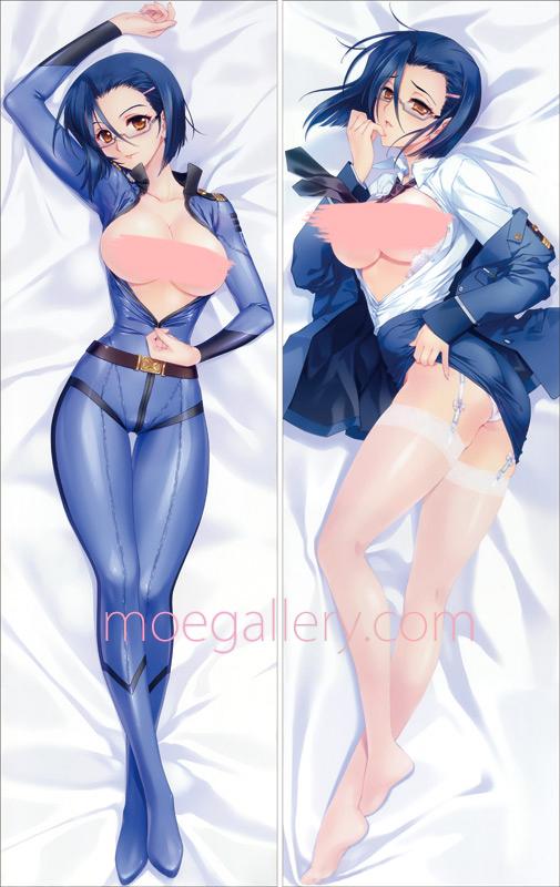 Space Battleship Yamato 2199 Kaoru Niimi Body Pillow Case
