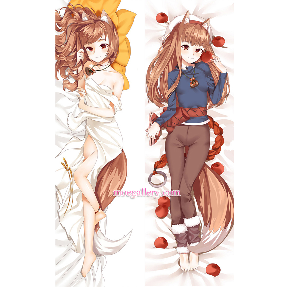Spice And Wolf Dakimakura Holo Body Pillow Case 02