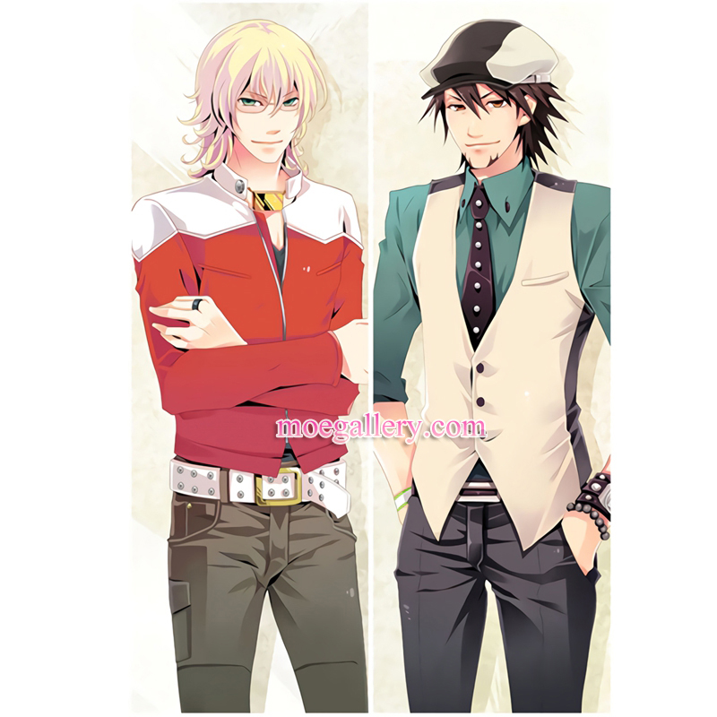 Tiger And Bunny Dakimakura Kotetsu T Kaburagi Barnaby Brooks Jr Body Pillow Case