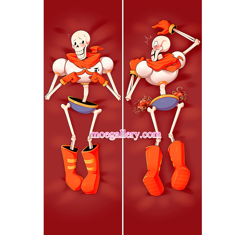 Undertale Dakimakura Papyrus Body Pillow Case