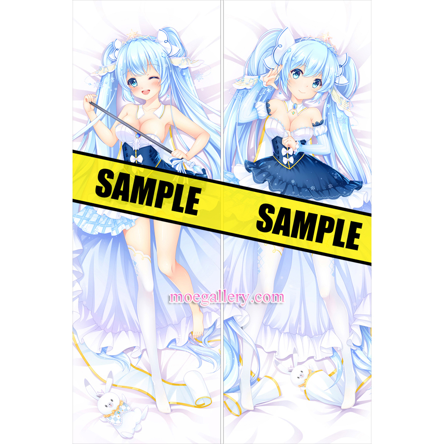 Vocaloid 2019 Dakimakura Snow Hatsune Miku Body Pillow Case