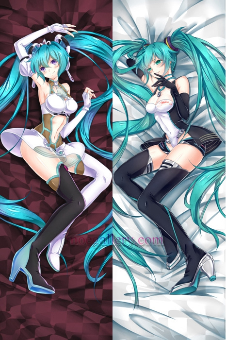Vocaloid Dakimakura Hatsune Miku Body Pillow Case