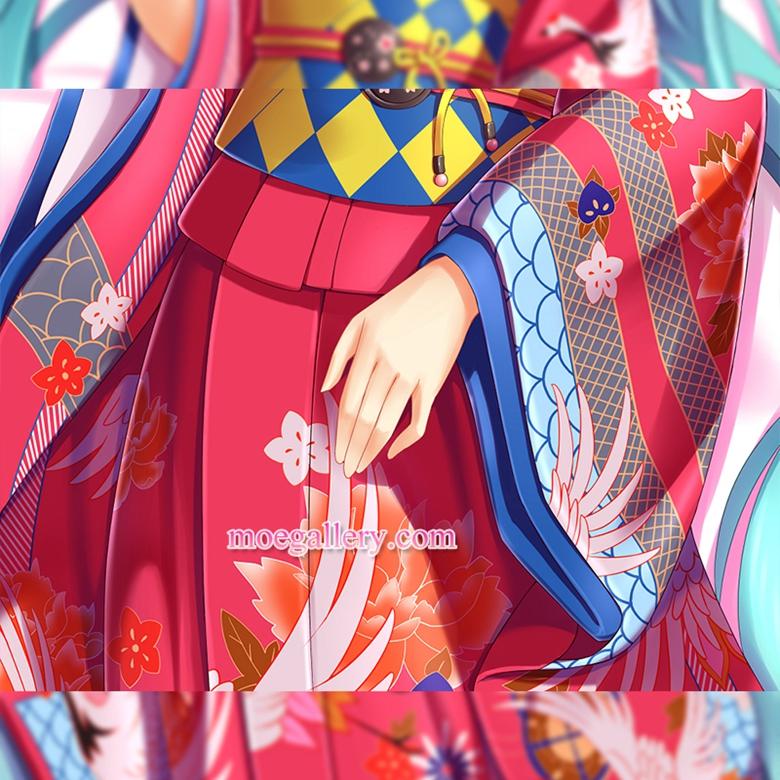 Vocaloid Dakimakura Hatsune Miku Body Pillow Case Kimono Version