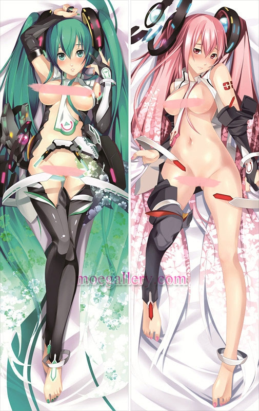 Vocaloid Dakimakura Hatsune Miku Megurine Luka Body Pillow Case