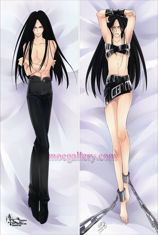 YuYu Hakusho Dakimakura Karasu Body Pillow Case