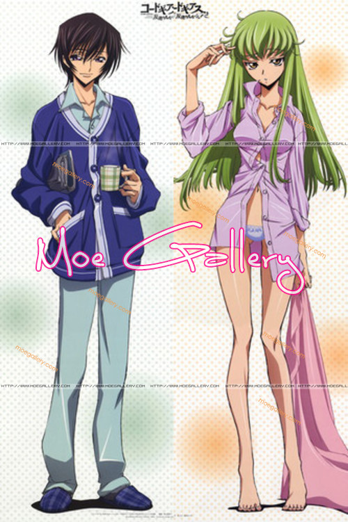 Code Geass C.C. Lelouch Lamperouge Body Pillow 02