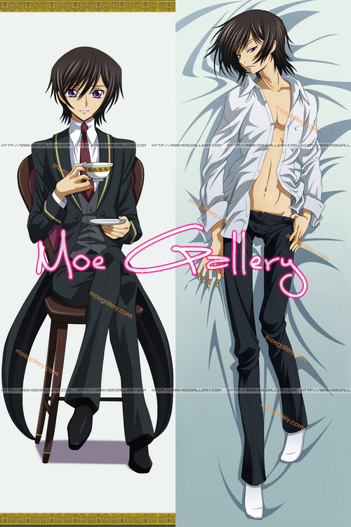 Code Geass Lelouch Lamperouge Body Pillow 02