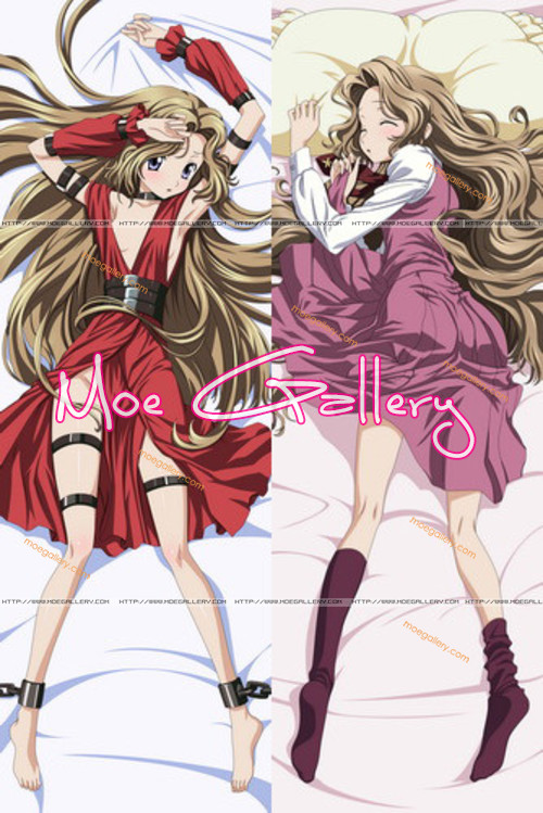 Code Geass Nunnally Lamperouge Body Pillow 01