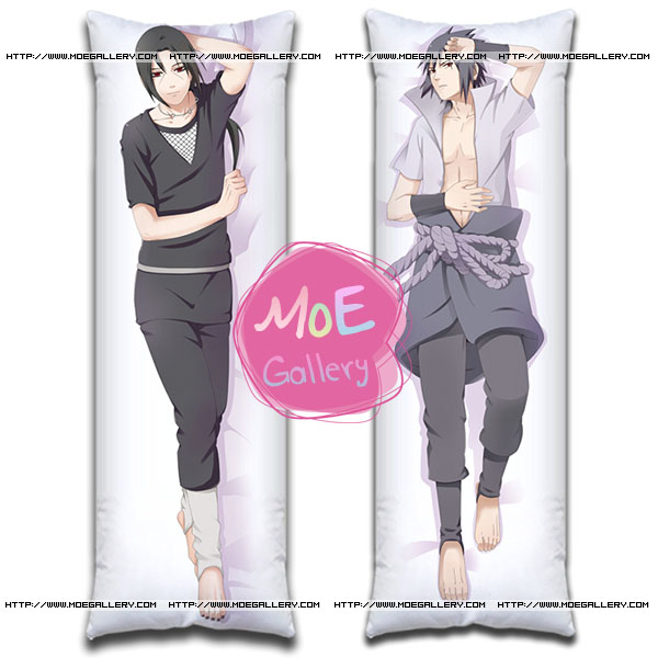Naruto Sasuke Uchiha Body Pillow Case