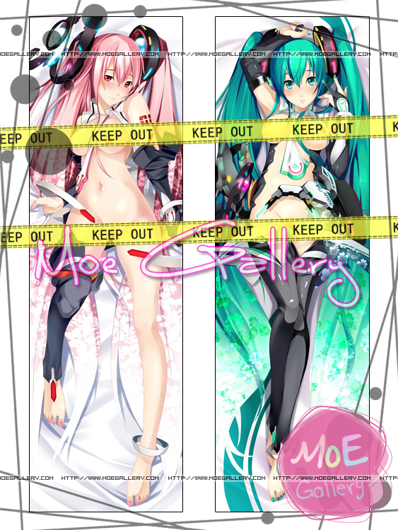 Vocaloid Hatsune Miku Body Pillow 02