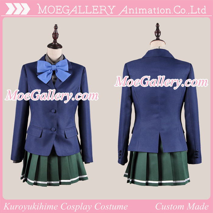 Accel World Kuroyukihime Black Lotus Cosplay Costume