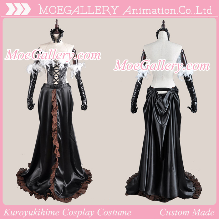 Accel World Kuroyukihime Cosplay Dress