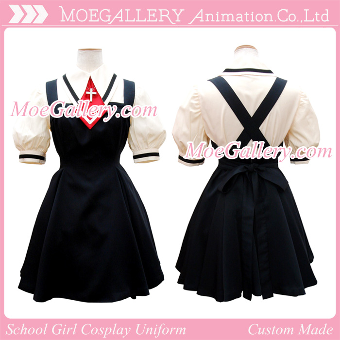 Air Cosplay School Girl Uniform