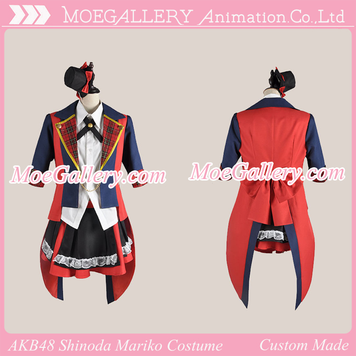 AKB0048 Shinoda Mariko Cosplay Costume
