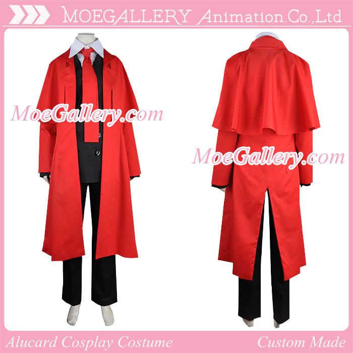 Hellsing Cosplay Alucard Costumes