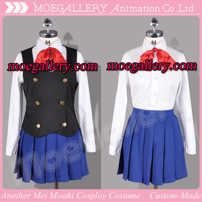 Another Mei Misaki Cosplay Costume School Girl Uniform