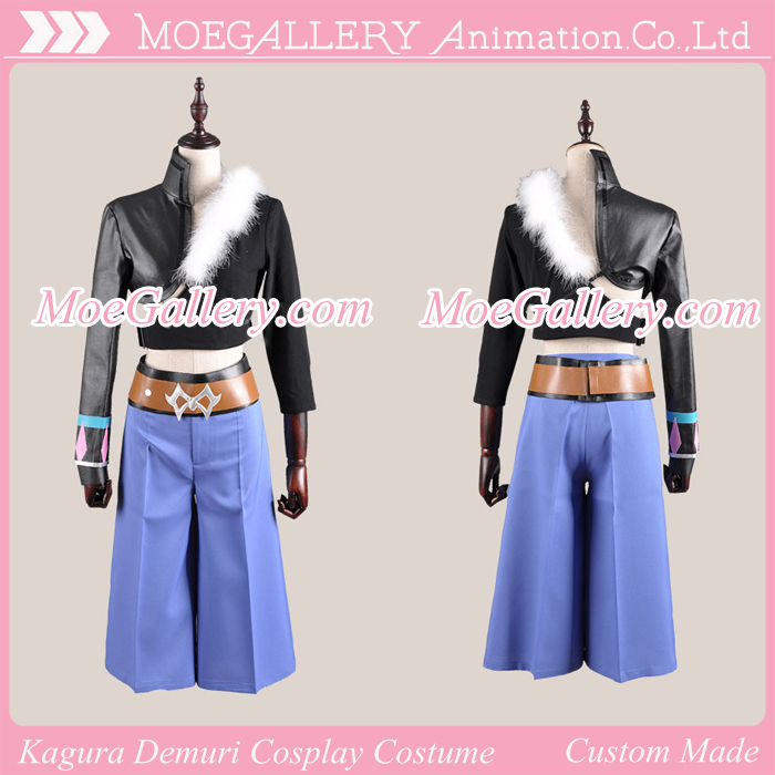 Aquarion Evol Kagura Demuri Cosplay Costume