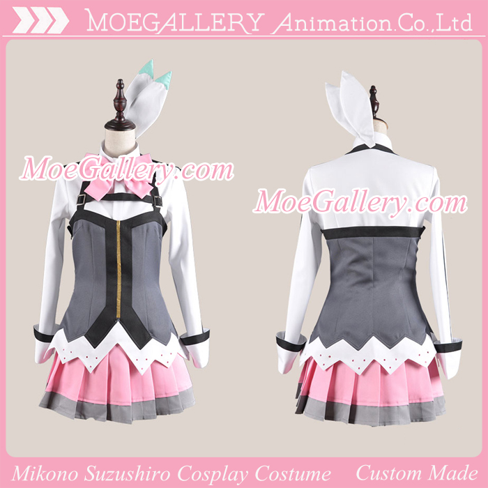Aquarion Evol Mikono Suzushiro Cosplay Costume