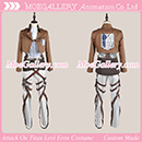 Attack On Titan Shingeki No Kyojin Levi Eren Cosplay Costume