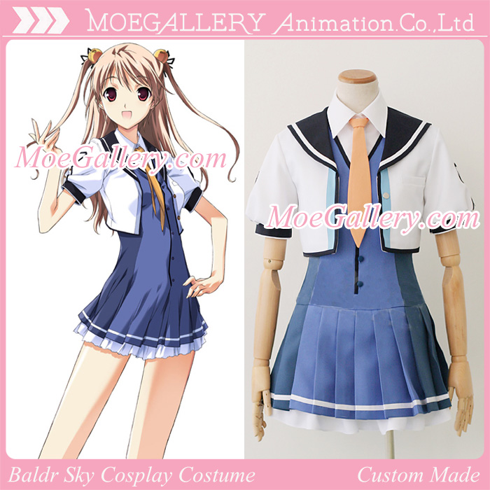 Baldr Sky Cosplay School Girl Uniform