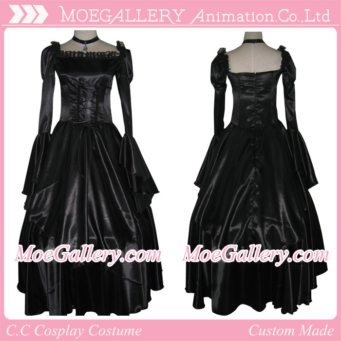 Code Geass Cosplay CC Black Dress