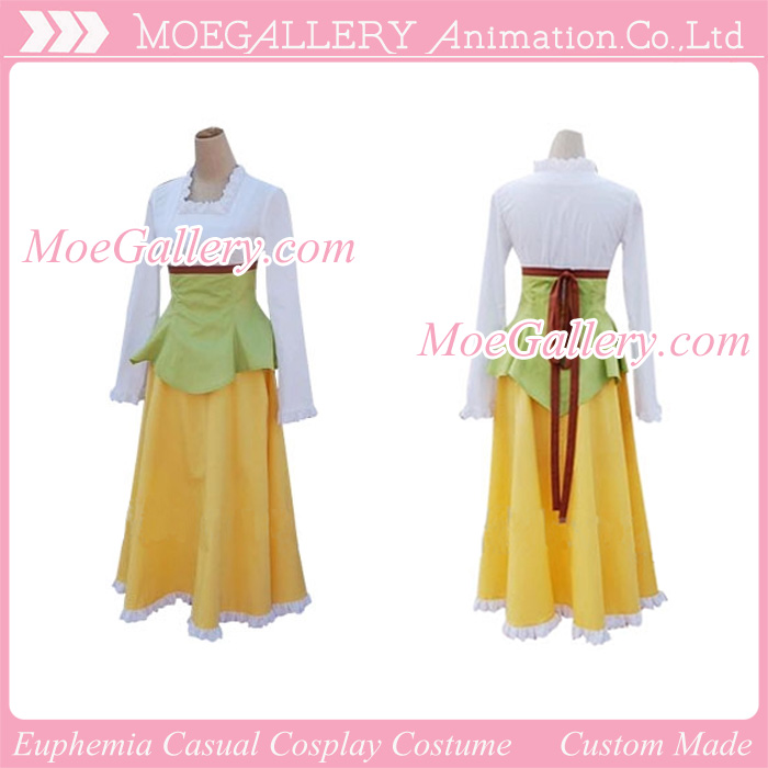 Code Geass Cosplay Euphemia Casual Costume