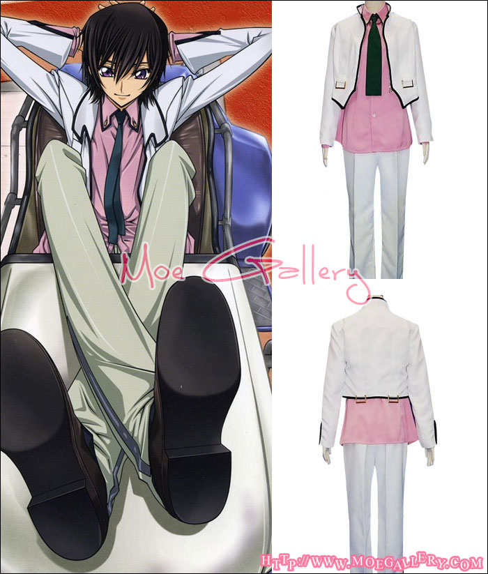 Code Geass Lelouch Cosplay Costume
