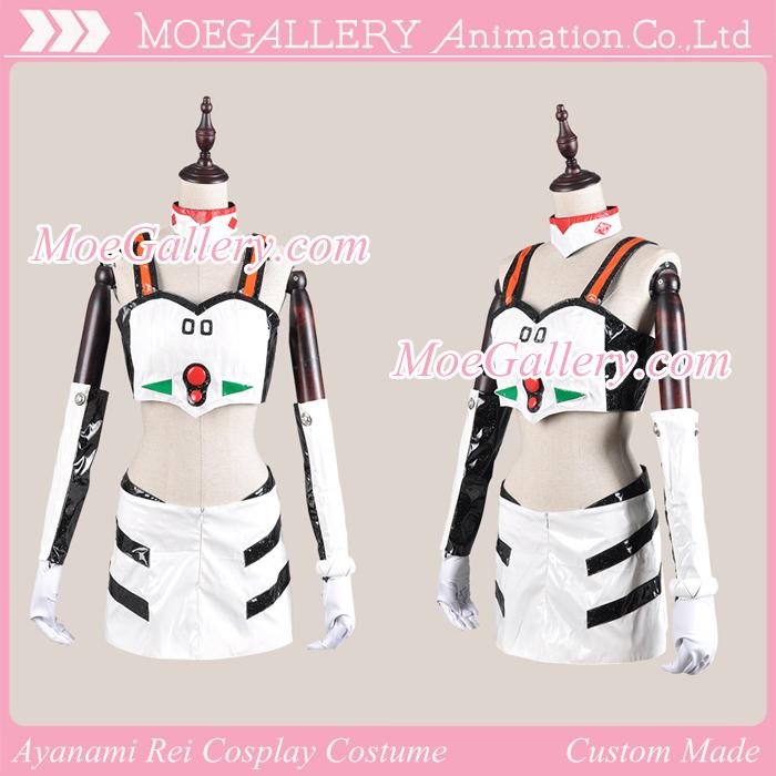 EVA Ayanami Rei Cosplay Racing Costume