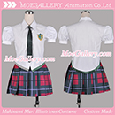 EVA Makinami Mari Illustrious Cosplay School Uniform