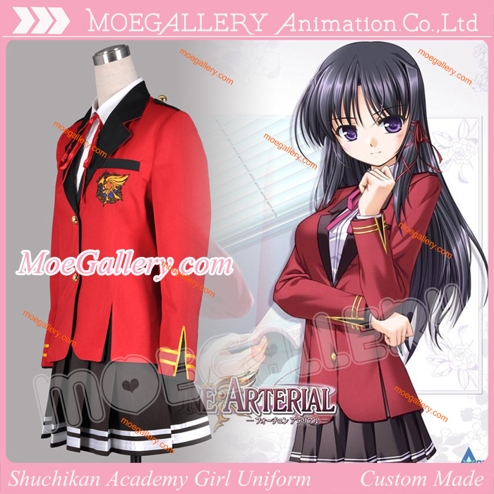 Fortune Arterial Shuchikan Academy Girl Uniform