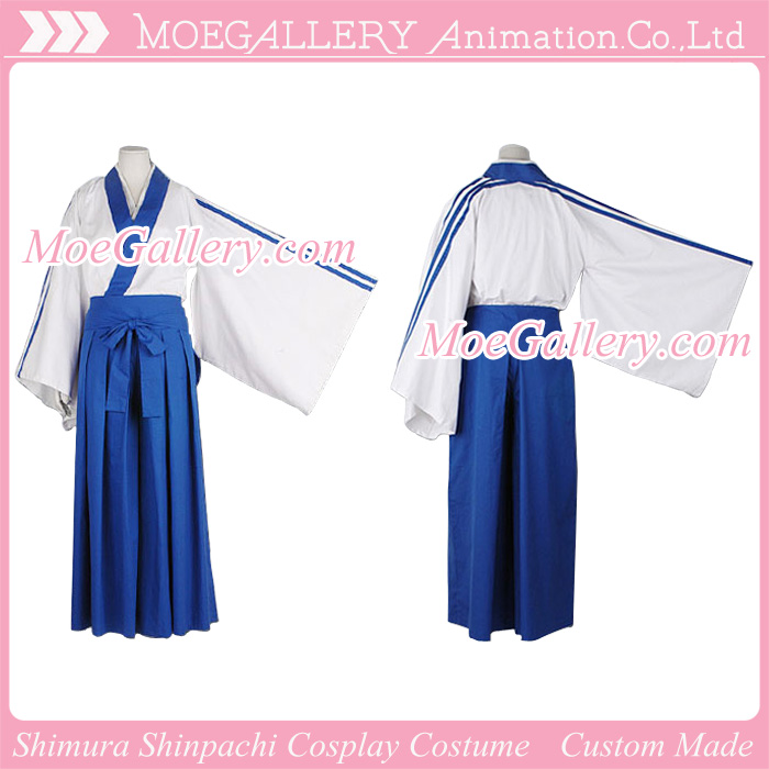 Gintama Cosplay Shimura Shinpachi Costume