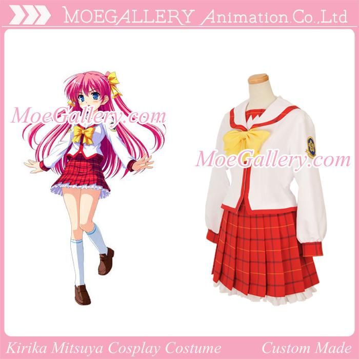 Guratan Cosplay Kirika Mitsuya Costume