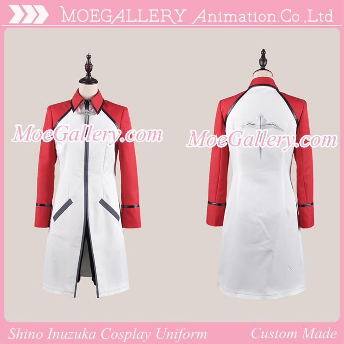 Hakkenden Touhou Hakken Ibun Shino Inuzuka Cosplay Uniform