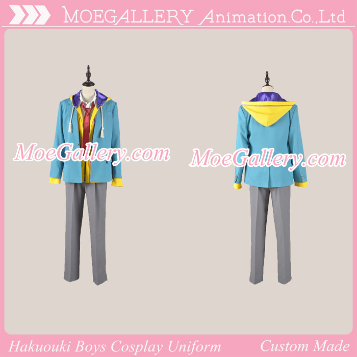 Hakuouki Zuisouroku School Boys Uniform Heisuke Todo Costume
