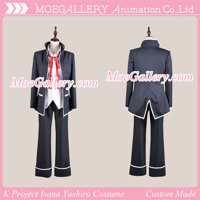 K Project Isana Yashiro Cosplay Costume